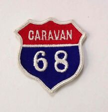 "Vintage CARAVAN 68 Boy Scouts of America BSA Patch/Badge RARE 3"" Sew-On"