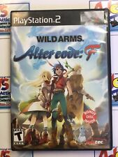 Wild Arms: Alter Code F - Bonus Disc / Manual / Complete PS2