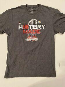 Boston Red Sox History World Series Champions Short Sleeve T-Shirt Men's Medium