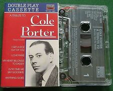 A Tribute to Cole Porter inc I Love Paris + Double Play Cassette Tape - TESTED