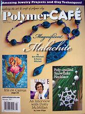 Polymer Cafe PolymerCAFE Clay Magazine - Feb 2011 New