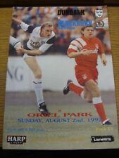 02/08/1992 Dundalk v Blackburn Rovers [amigable] (leve daño que en la parte inferior).