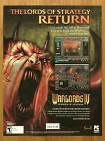Warlords IV 4 Heroes of Etheria Vintage Print Ad/Poster Official Promo Art Rare!