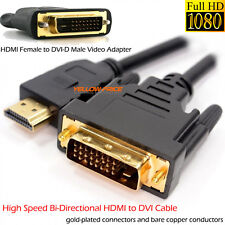 3M HDMI to DVI-D 24+1 Cable hdmi to DVI Video Adapter 1080P TV PC PS3 XBOX DVD