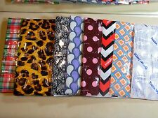 THERMAFREEZE~10 Reusable Lunch Box Cooler ICE GEL Sheets~4X3 cell~Choose Pattern