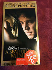 VHS Tape; A Beautiful Mind; Russell Crowe; VG