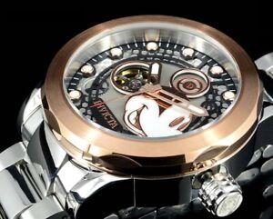 NEW PROTOTYPE Invicta 22744 Disney® 50mm Ltd.Ed. AUTOMATIC Rose Tone SS Watch