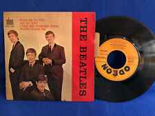 THE BEATLES EP FROM ME TO YOU SOE 3739 LANGUETTE ORIG FRANCE VG++