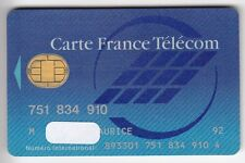 TELECARTE / PHONECARD .. CARTE FRANCE TELECOM INTERNATIONAL PUCE BULL S/N°  V°