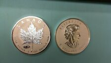 2016 CANADA SILVER MAPLE LEAF MARK V TANK PRIVY  REVERSE PROOF 1 OZ .9999