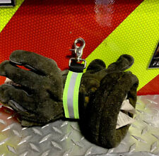 Heavy Duty Firefighter Turnout Gear Glove Strap With Reflective Strap