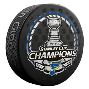 2019 ST LOUIS BLUES Official Stanley Cup CHAMPIONS Champ Puck