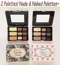 Beauty Creations Totally Nude & Bare Naked Eye Shadow Palettes - All 2 Pcs!