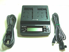genuine Dual Sony AC Adapter & Charger (AC-SQ950A) Original OEM