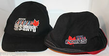2 x Molson Canadian House Party Rocks Beer Hat Bucket Cap