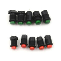 10 Pcs 12mm Red Momentary OFF-ON Push Button Pushbutton Car Boat Switch HF