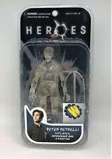 Heroes Peter Petrelli Invisible ~ Wizard Entertainment Action Figure Mezco NEW C