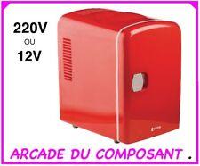 MINI FRIGO GLACIERE 4L 12V ou 230V - CHAUD ou FROID (ref 74045-1)