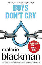 Blackman, Malorie, Boys Don't Cry, Very Good Book
