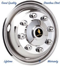 "19.5"" x 6.75"" FORD F-650 F-750 8 LUG WHEEL SIMULATOR RIM LINER HUBCAP COVER ©"