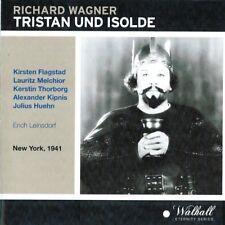 Wagner TRISTAN UND ISOLDE Melchoir KIPNIS Flagstad THORBORG; Leinsdorf MET8/2/41