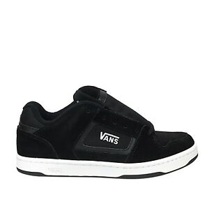 New VANS Docket (Suede) Black White Canvas Men's Skate Shoe Sneaker