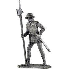 English infantryman 15th century Tin toy soldiers.54mm miniature metal sculpture