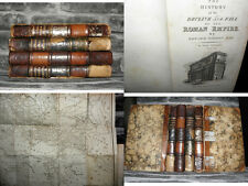 The History of the Decline and Fall of the Roman Empire- Gibbon - 1834 4 vol set
