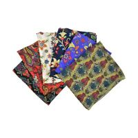 Israeli Tichel Headscarf Cute Oblong Print Womens Chemo Ladies Soft Head Scarf
