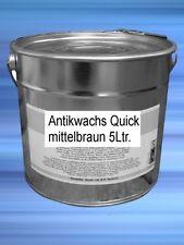Antikwachs 5Ltr Quick mittelbraun perfecte hochwertige OberflächenRestauration