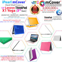 "NEW mCover® Hard Case for 2018 14"" Lenovo ThinkPad X1 Yoga 3rd Gen. Laptop"
