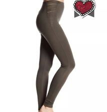 50aef9219fc Norstrom Rack Love Zoe Womens Olive Green Strappy Leggings Sz M