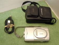 Olympus CAMEDIA C-300 Zoom 3.0MP Digital Camera, Memory Card, USB Lead - Silver