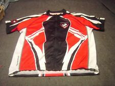 PRIMAL 92 Red Black White short sleeved Cyclist Jersey Adult Size XXL