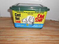 "Betts 7PM 7Ft Old Salt Cast Net 7Lb 3//8/"" Mesh Lead Weights 12923"