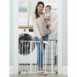 Easy Step 38.5-Inch Extra Wide Walk Thru Baby Gate, Includes 6-Inch Extension 4