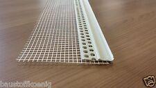 60m PVC Einhängeprofil  für WDVS Sockelprofil mit Armierungsgewebe für Fassade