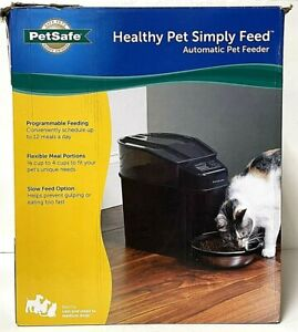 PetSafe Healthy Pet Simply Feed Automatic Dog & Cat Feeder New Open Box