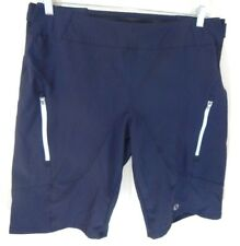 Pearl Izumi Men's Large Shorts Veer Navy Blue Cycling Mountain Biking EUC