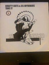 "Krafty Kuts & C5 Joyriders – Take It 12"" Vinyl"