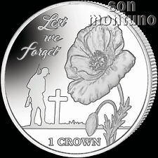 LEST WE FORGET - 35th Anniversary Falklands Liberation - 2017 Cupro Nickel Coin