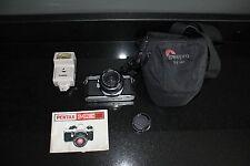 Cámara SLR Pentax Me Super 35mm De Cine