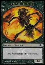 ▼▲▼4x Jeton Squelette (Token Skeleton) 4/10 ALA ECLATS #253 FRENCH Magic