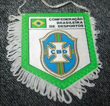 Petit fanion )) CONFEDERACAO BRASILEIRA DE DESPORTOS / BRASIL