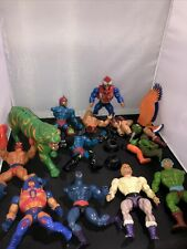 Huge Lot Vintage MOTU Action Figures FOR PARTS He Man Masters Of The Universe