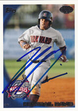 Kentrail Davis Brevard County Manatees Signed 2010 Topps Pro Debut Card Brewers
