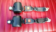 Set of two SECURON retracting seat belts in black  - ? 2220
