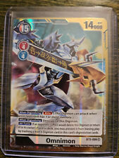 Omnimon SR Alternate Alt Art BT5-086 Digimon Card Game BT05 NM