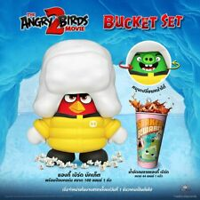 The Angry Birds Movie 2 Popcorn Bucket Collection Model Cartoon Theater Thai