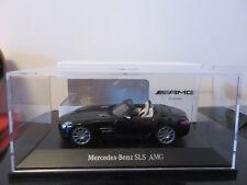 MERCEDES-BENZ SLS AMG ROADSTER NOIRE OBSIDIAN  SCHUCO 1/43 EN BOITE NEUF